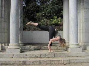 Standing splits
